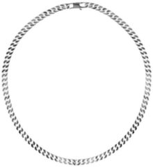 First Choice FirstChoice GSP8 Ketting zilver Gourmet 8,0 mm breed 72,1 gram 55 cm lang