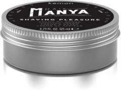 Kemon Hair Manya Shaving Pleasure Scheercreme Shaving Cream 125ml
