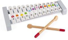 Witte Janod Confetti Xylofoon - 12 Toetsen