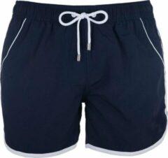 Panos Emporio Zwemshort Aristotel | Maat M | Navy Blauw | Mannen zwembroek | Zwemshort heren