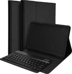 Accezz Bluetooth Keyboard Bookcase Samsung Galaxy Tab S6 Lite tablethoes - Zwart