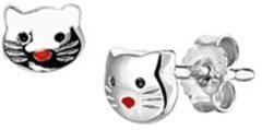 Zilveren Guess Tomylo - Kinder oorknoppen poes - 1320688