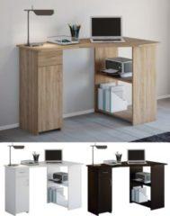 """VCM Eckschreibtisch Schreibtisch Büromöbel Computertisch Winkeltisch Tisch Büro """"Linzia"""""""