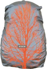 Oranje WOWOW Quebec - Reflecterende rugzakhoes waterdicht - Regenhoes tas 25L