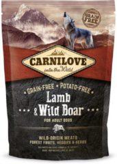 Brit Carnilove Adult granenvrij hondenvoer Lam & Wild zwijn 1,5kg