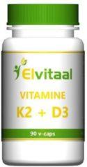 How2behealthy Elvitaal Vitamine K2 & D3