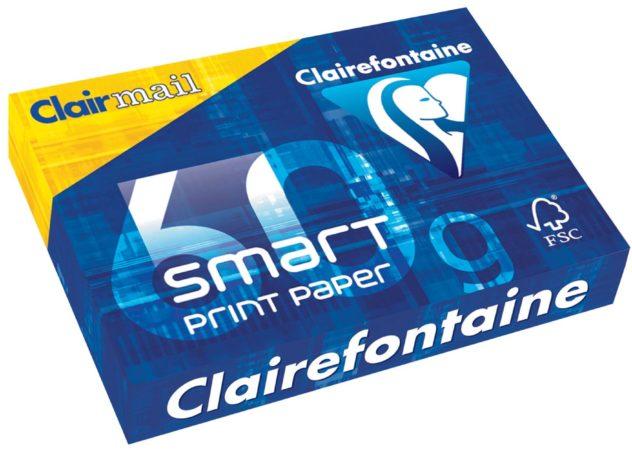 Afbeelding van Clairefontaine Smart Printing printpapier formaat A4 60 g pak van 500 vel
