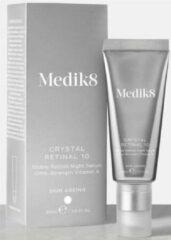 Medik8 Crystal Retinal 10 Stable Retinal Night Serum Vitamin A 30ml