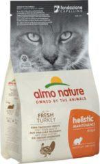Almo Nature - Katten - Droogvoer - Holistic - Kalkoen - 6 x 400gram