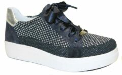 Blauwe Ara comfort sneaker