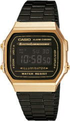 Casio A168WEGB-1BEF Retro Collection Illuminator horloge