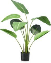 Groene Easyplants Kunstplant Strelitzia 120 cm
