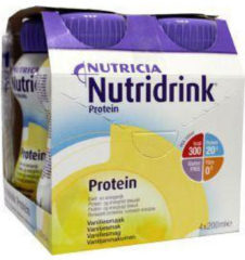Nutricia Nutridrink Protein Vanille 4 x 200 ml