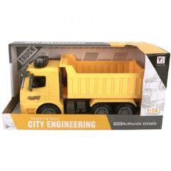 Basic Ya Hang Toys Kiepwagen met Licht en Geluid 1:14