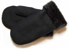 Bernardino Wanten Double Face met lamsvacht voering - zwart - Unisex - Maat 6 (S)