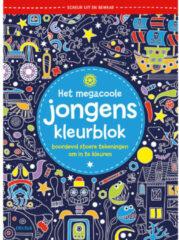 Deltas Het Megacoole Jongens Kleurblok