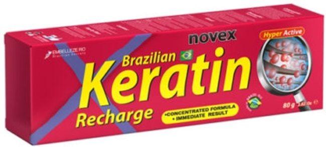Afbeelding van Novex Brazillian Keratin Recharge 80gr