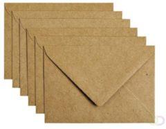 Papicolor Envelop Formaat 114 X 162 Mm C6 Kleur Recycling Bruin