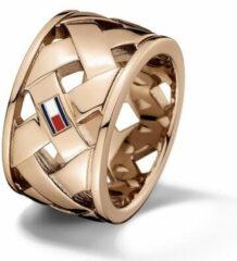 Tommy Hilfiger TJ2701025 Ring staal rosekleurig Maat 54 (C)