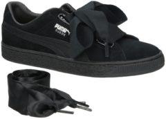 Beige Puma Suede Heart EP Sneakers