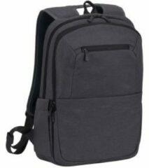 Zwarte Riva Case RivaCase 7760 - Laptop Rugzak - 15.6 Inch - Extra vak voor 10.1 Inch tablet - Antraciet