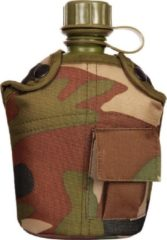 Fosco PVC Veldfles - 1 Liter - Incl Camouflage Hoes