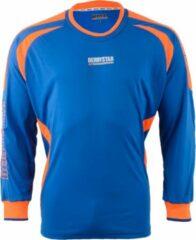 Derbystar Aponi Sportshirt - Maat 116 - Unisex - blauw/oranje