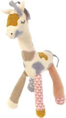 Smallstuff Giraf Activiteitenknuffel Peach / Powder