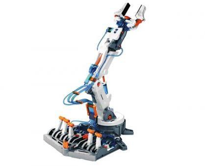 Afbeelding van Gele Velleman KSR12 Hydraulische robotarm bouwpakket