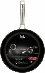 Food appeal Edge koekenpan, kookpan, inductiepan 26cm   Zwart kristalontwerp   voor inductiekookplaat, gaskookplaat, elektrische kookplaat en keramische kookplaat