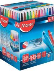 Maped Office Color'peps goed uitwasbare viltstift - in schoolverpakking x 72