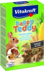 Vitakraft Happy Teddy - Groente - Knaagdierensnack - 75 g