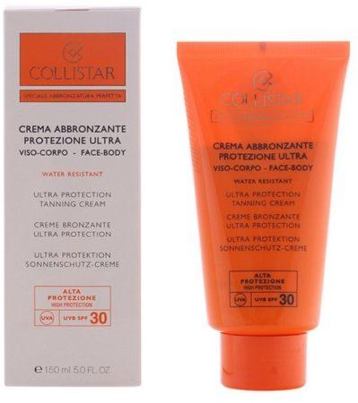 Afbeelding van Collistar Ultra Protection Tanning Zonnebrandcreme - SPF 30 - 150 ml - Voor gezicht en lichaam