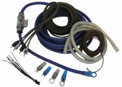 Zwarte Necom Kabelset Expert Ck-E10 10 mm² tbv Versterker auto - 10-delig