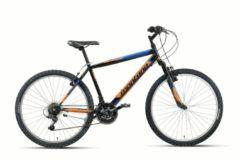 Montana Bike 26 ZOLL MONTANA ESCAPE MOUNTAINBIKE HARDTAIL 18 GANG Herren schwarz-orange