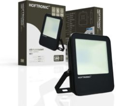 Zwarte HOFTRONIC™ LED Breedstraler 30 Watt - IP65 - 4000K - 160lm/W - Schijnwerper - Buitenlamp - 5 jaar garantie