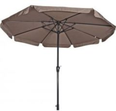 Lesliliving Parasol Libra taupe 3,5mtr niet knikbaar
