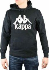 Kappa Taino Hooded 705322-19-4006, Mannen, Zwart, Sporttrui casual, maat: XXL EU