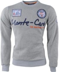 Geographical Norway - Heren Sweater - Monte Carlo - Ronde Hals - Folo - Grijs