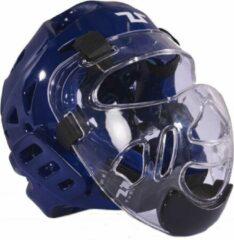 Tusah Taekwondo hoofdbeschermer Plus Blauw L
