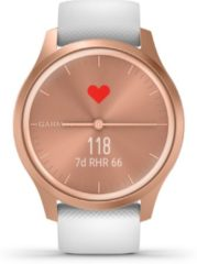 Goudkleurige Garmin Vivomove Style - Smartwatch - RoseGold/White