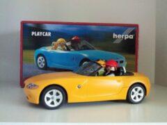 Herpa Playmobil Playcar BMW Z4 Geel