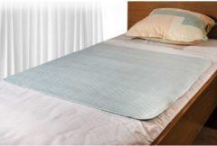 Groene Wasbare matrasbeschermer 85x90cm bedbeschermer - incontinentie onderlegger