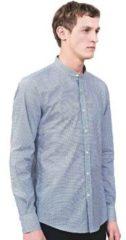 Blauwe Overhemd Lange Mouw Antony Morato MMSL00526 FA430360