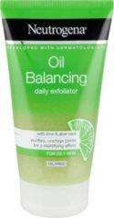 Neutrogena Oil Balancing Daily Exfoliator Gezichtsscrub - 150 ml