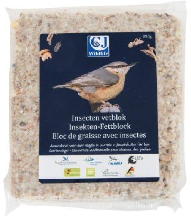 Afbeelding van Wildbird Vogelbescherming Insectenvetblok