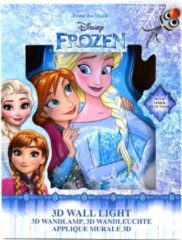 Disney Frozen Wall Light 3D