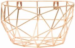 TAK Design Thanwa Mand L - Wandbevestiging - Metaaldraad - 16 x 10 x 16 cm - Koperkleurig