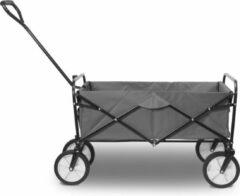 4goodz Opvouwbare Bolderkar - Inklapbare Bolderwagen Grijs 97x61x59cm