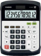 Casio WD-320MT Bureaurekenmachine werkt op zonne-energie, werkt op batterijen Zilver-zwart Aantal displayposities: 12